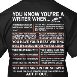 tshirt writer