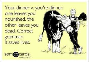 your dinner